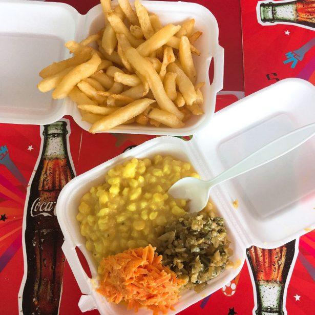 Lesotho restaurant meal