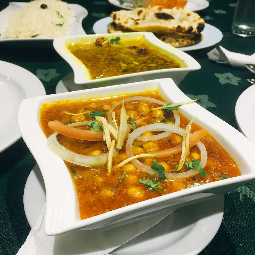 Indian food in Mozambique
