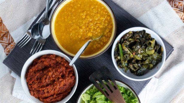 vegan Ethiopian dishes