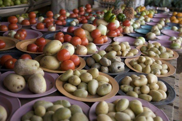Lesotho market