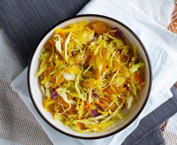 Tikil Gomen Ethiopian dish
