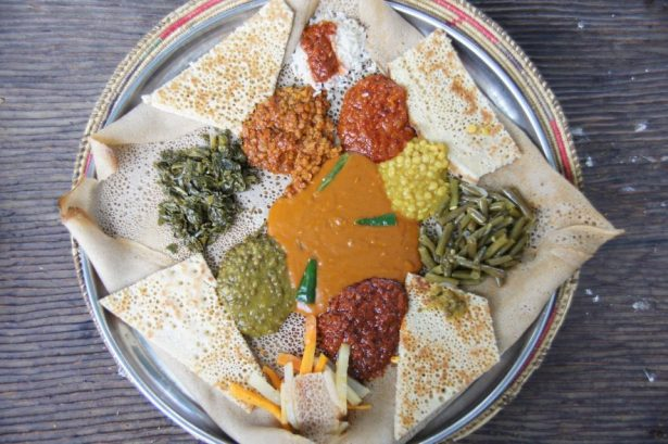 vegetarian Eritrean food