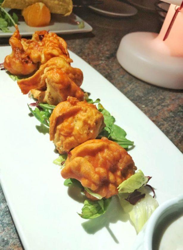 Ike's Bistro's Spicy Buffalo Cauliflower Wings