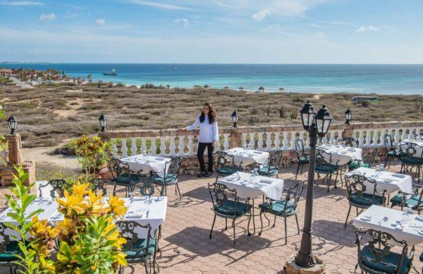 Faro Blanco restaurant in Aruba