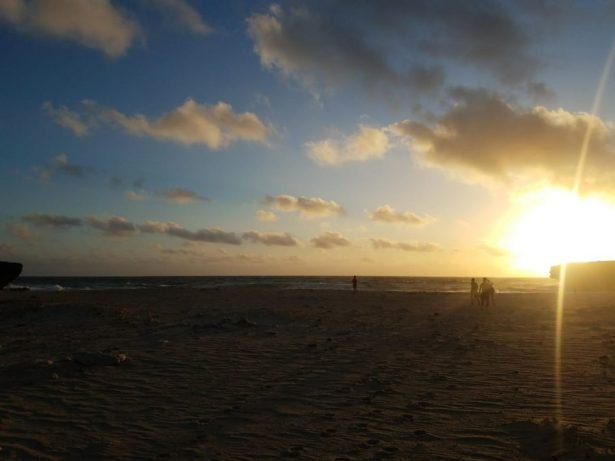 Dos Playa beach in Aruba