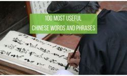 Chinese Basic Words and Phrases
