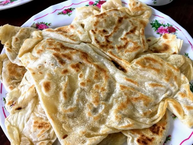 Homemade rotis in George Town