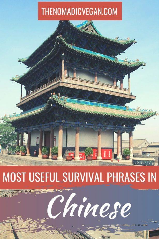 Mandarin Chinese Travel Phrases