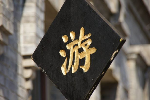 Chinese character for travel