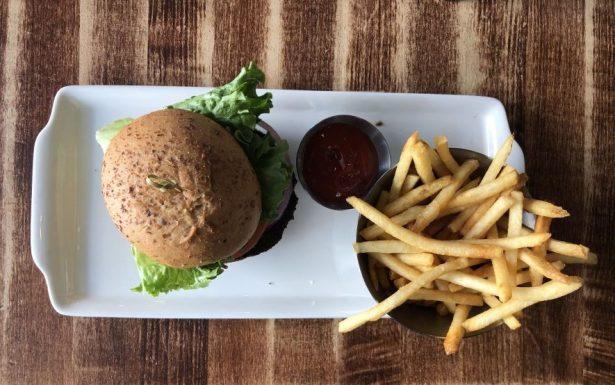 Impossible Burger at Earls Canada
