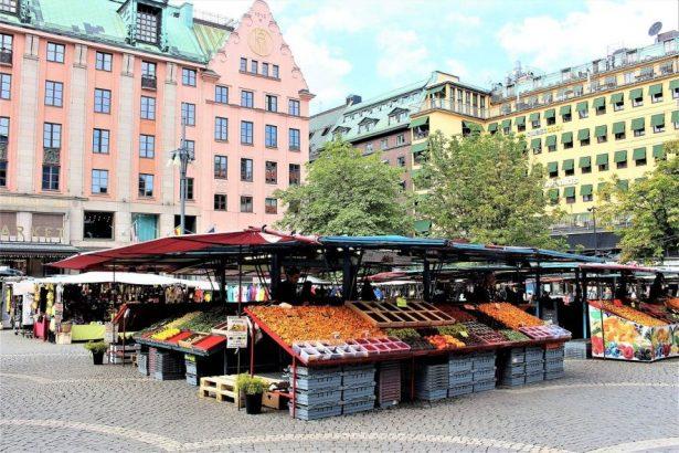 Stockholm Farmers' Market Hötorget