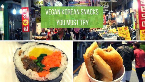 Vegan Korean Snacks You Must Try